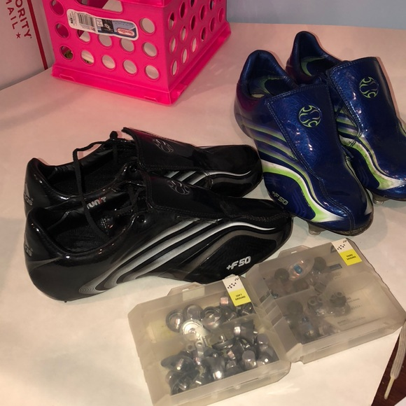 5f9255694 adidas Shoes - Adidas +F50 tunit cleats with studs